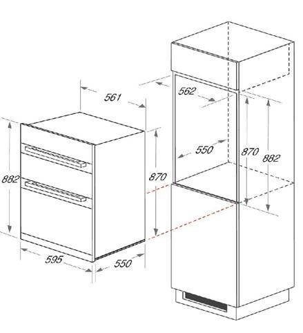 KDD3340IX Fitting Diagram
