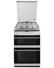 Amica-608DGG2TSXXX-Double-Gas-Cooker