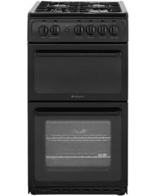 Hotpoint-HAG51K-Gas-Cooker