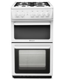 Hotpoint-HAG51P-Gas-Cooker