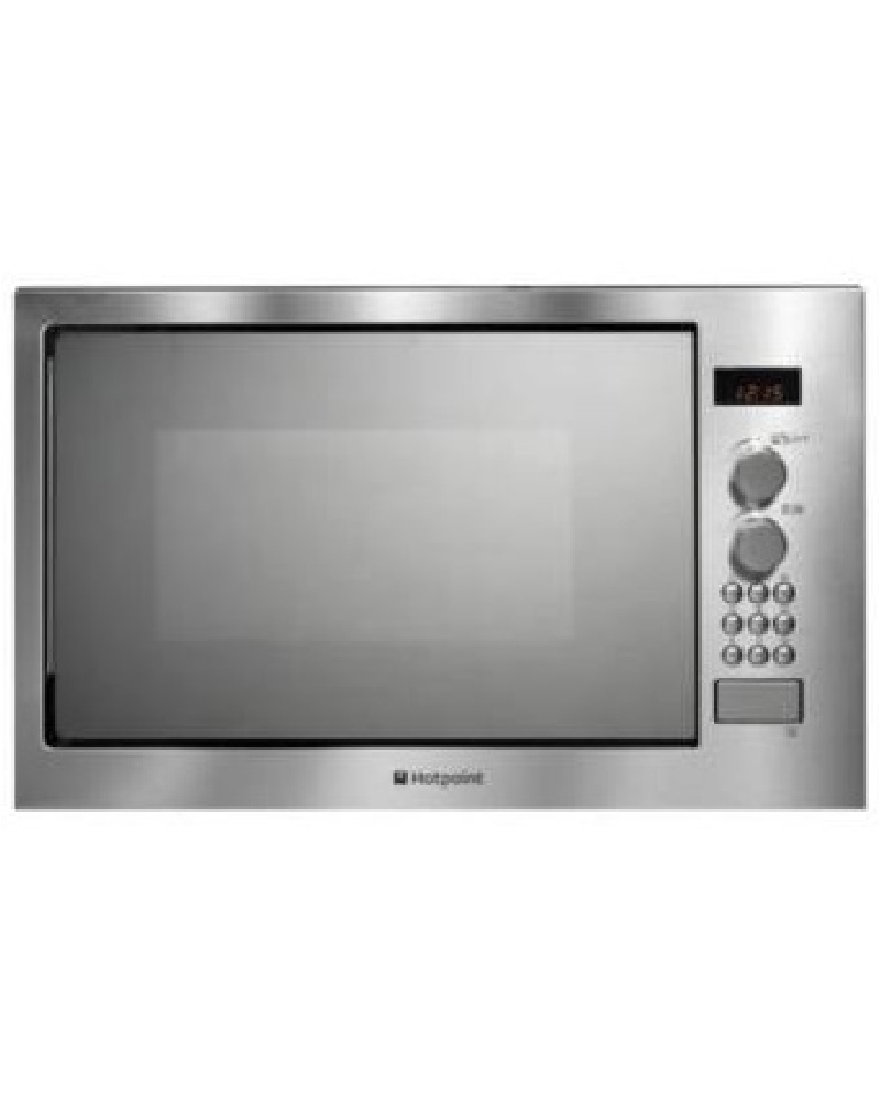 Hotpoint MWH2221X Stainless steel Microwave with Grill -