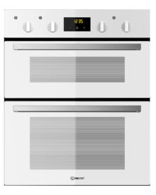 Indesit-IDU6340WH-Double-Oven