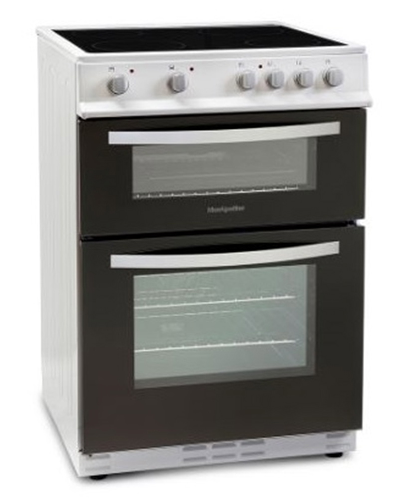 Home Electric Cooker ~ Montpellier mtc fw freestanding electric cooker