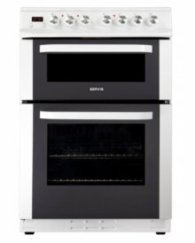Servis-SC60W-White-Double-Oven-Cooker