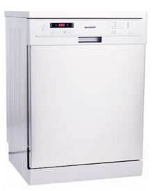 Sharp-QWG472W-Dishwasher