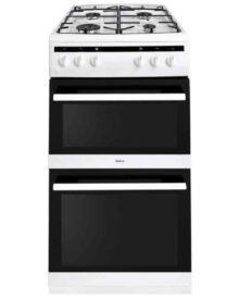 Amica-AFG5100WH-Double-Gas-Cooker