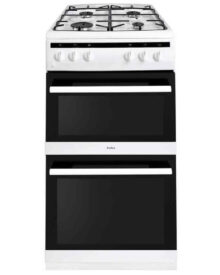 Amica-AFG5500WH-Twin-Gas-Cooker