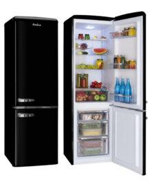 Amica-FKR29653B-Black-Fridge-Freezer
