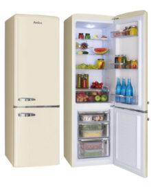 Amica-FKR29653C-Cream-Fridge-Freezer